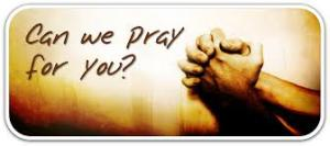 praying for you