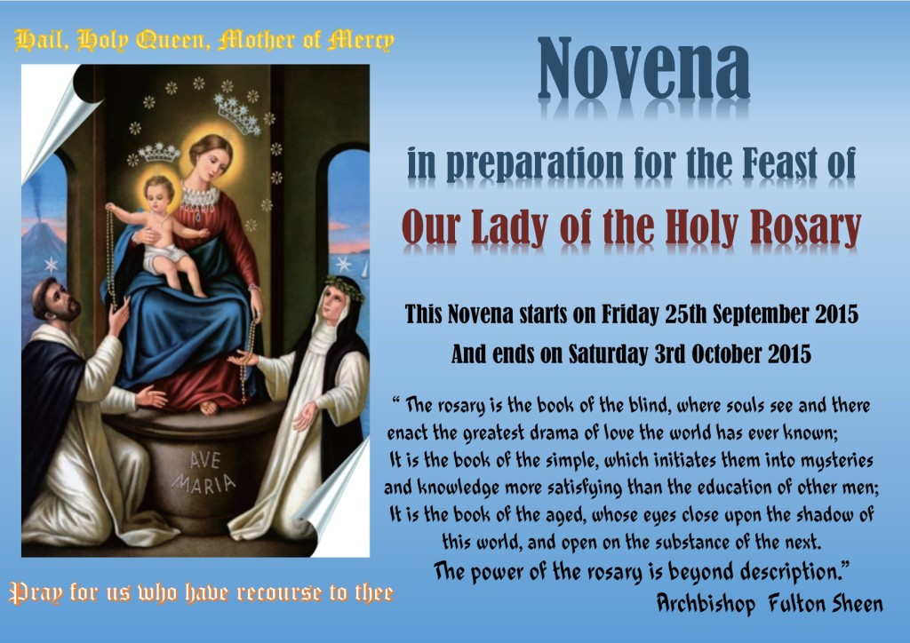 9 day rosary novena