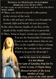 Novena to Our Lady of Lourdes | Ta Pinu Shrine Australia